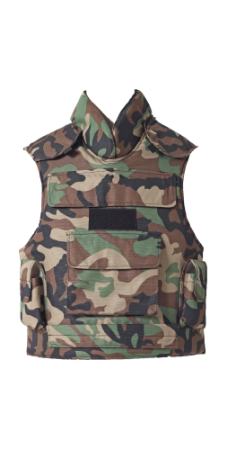 FD-BV 9012 GİLET PARE-BALLE CAMOUFLAGE FORET